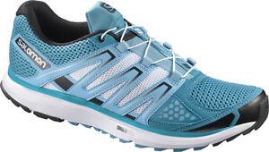 Details zu NEU Salomon X Scream W Laufschuhe Schuhe Trail Running Blau 358860 Sport SALE