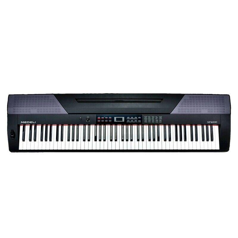 Medeli SP4000 Pianoforte digitale Stage piano a 88 tasti con tastiera hammer act