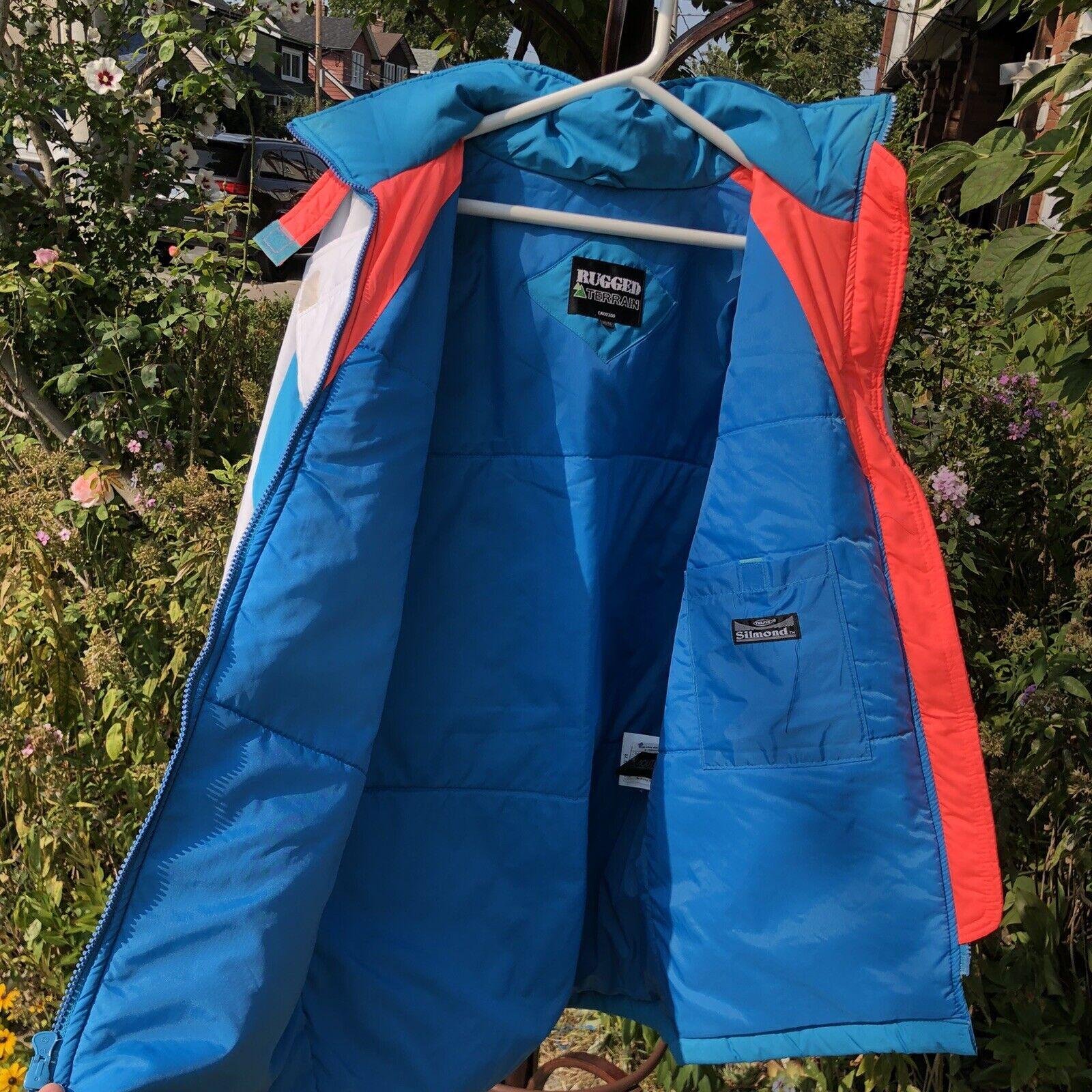 Vintage 90s Ski Multi-color Color Block Jacket Co… - image 11