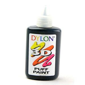 DYLON-3D-tessuto-SOFFIO-PITTURA-Nero