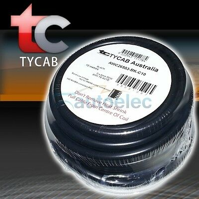 6MM TWIN CORE CABLE x 10 METRE ROLL 10M SHEATH WIRE DUAL BATTERY 12V 2