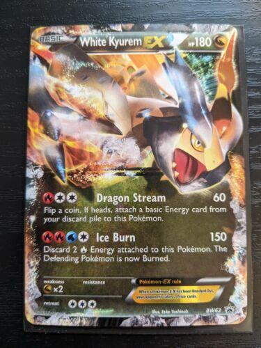 White Kyurem EX   Black Star Promo BW63   Pokemon Card