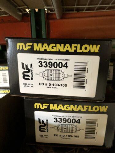 MagnaFlow Universal California Catalytic Converter Part#3391004