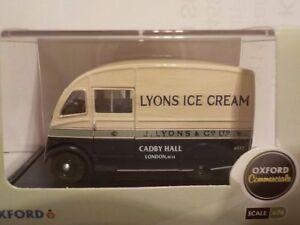 Commer-Q25-Lyons-Ice-Cream-Model-Cars-Oxford-Diecast