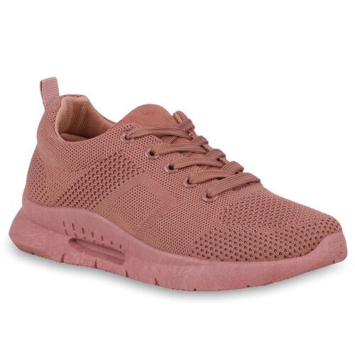 Damen Sportschuhe Laufschuhe Runners Strick Sohle Schuhe 823744 Trendy Neu