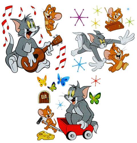 27 Pcs Set XL Tapisserie Tom et Jerry-Sticker souris chat BD fromage AUFK