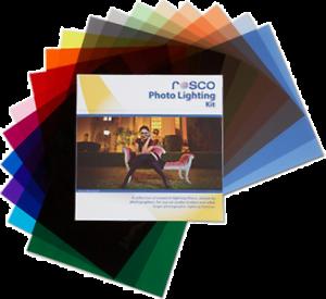Rosco-Photo-Lighting-Filter-Kit-30-x-30cm-NEW