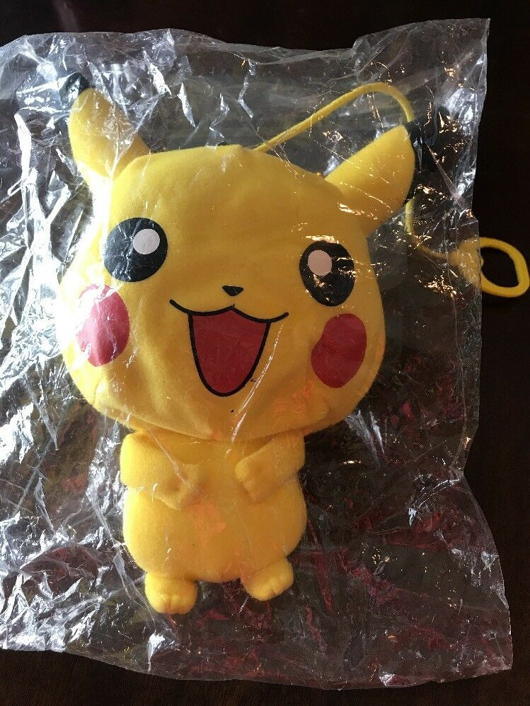 Cuddly Pokemon Pikachu Figure Plush Soft Soft Soft Toy Stuffed Animal Doll 10'' Teddy RARE 816dbc