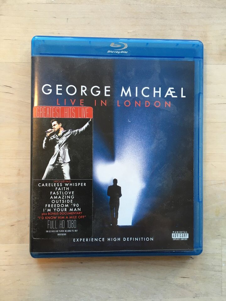 Georg Michæl Live in London, Blu-ray, andet