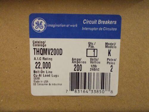 gneral electric THQMV200D  200AMP MAIN BREAKER