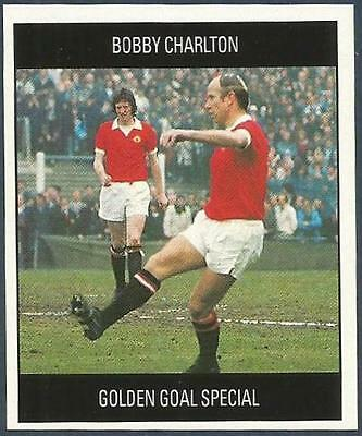 ORBIS 1990 WORLD CUP COLLECTION-#B-ENGLAND /& MANCHESTER UNITED-BOBBY CHARLTON