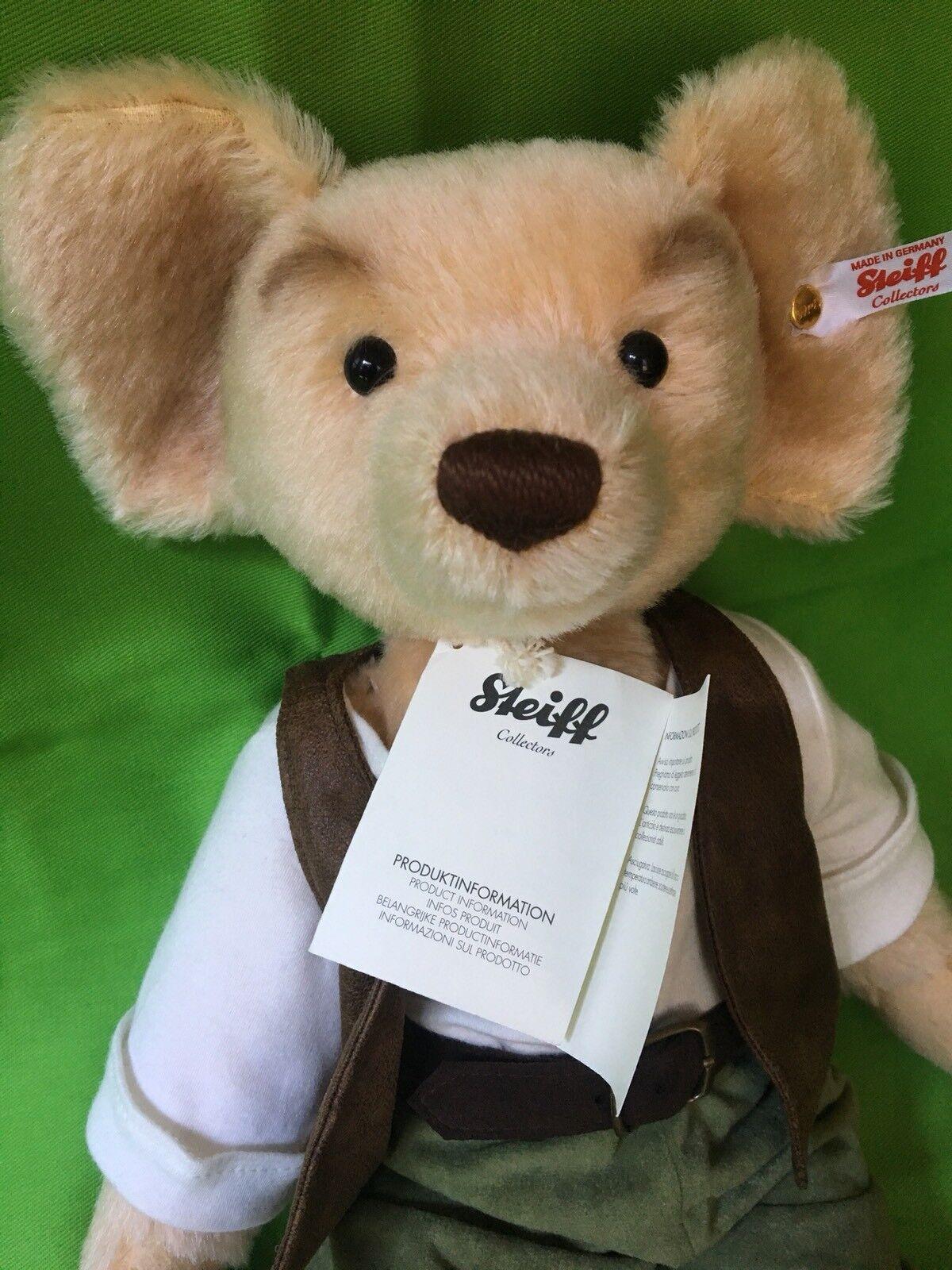 BRAND NEW STEIFF The Big Friendly Giant Teddy Bear 15 15 15 inch tall mohair w tags aaae94