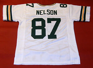 quality design bc36d 917ef Details about JORDY NELSON CUSTOM GREEN BAY PACKERS W JERSEY