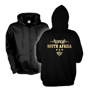 wms06 Shirt Sud Giacca Jacket Hoodie South Sweat Africa 61e con cappuccio Africa Country qSPq1fw