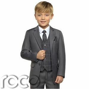 369dc66d9a56 Boys Grey Suits