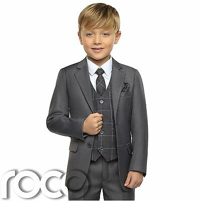 Wedding Suits Page Boy Suits Boys Suits Boys Grey Tail Suit Wine Waistcoat