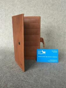 Handmade-Buffalo-Leather-Wallet-Purse-CWWZ-Zip-Passport-YKK-Billy-Goat-Designs