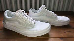 all white vans size 5