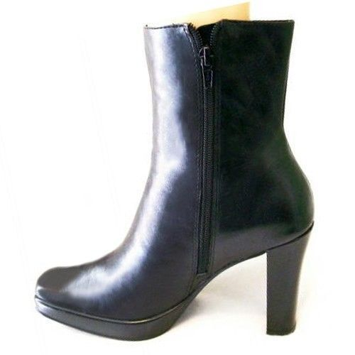 New WORKYNGTON Donne in pelle  Mid Calf High Heel Side Zip Dress avvio scarpe Sz 7  negozio fa acquisti e vendite