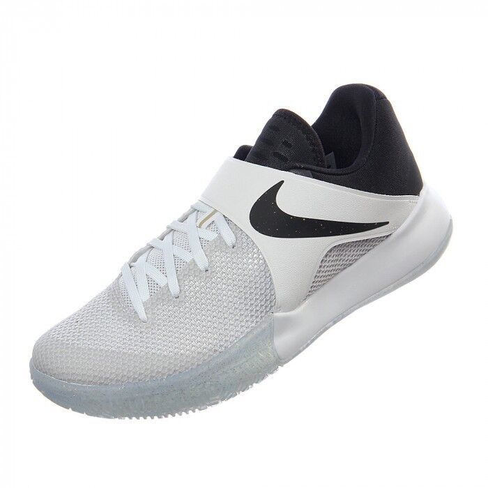 Nike Zoom Live hombre Athletic zapatos Metallic Blanco / Negro / Metallic zapatos Oro SZ 14,15 5e5553