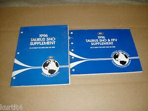 1996 Ford Taurus SHO Wiring Electrical shop service repair ...
