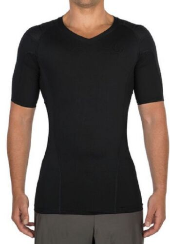 32013 INTELLISKIN Men/'s Essential Tee V-Neck 3X-LARGE w// PostureCue BLACK Model