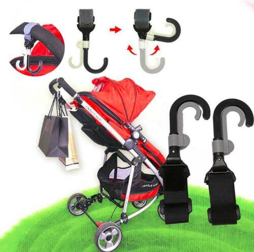 CB Infant Baby Stroller Hook Holder Pram Double Rotate Hook Pushchair Hanger