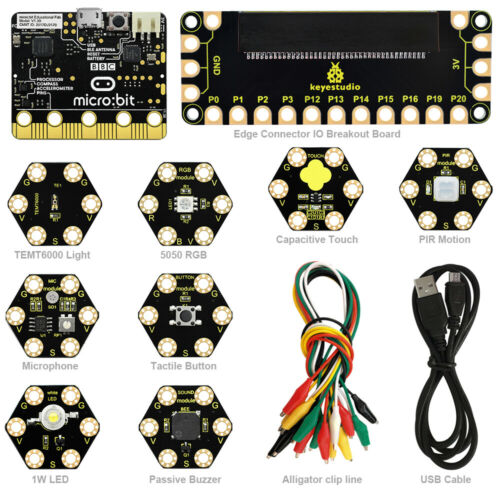 KEYESTUDIO Electronic Project Capteur Starter Kit pour BBC Micro: Bit MICROBIT Kids    eBay