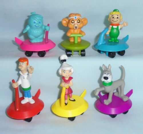 The Jetsons Vehicle Space Gliders PVC Figure Wendys Kids Toy Set 1990 Applause