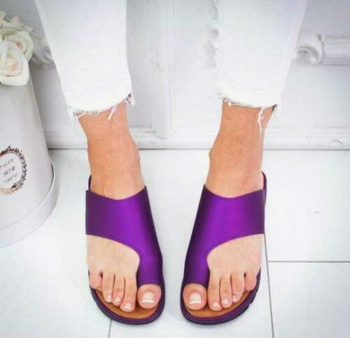 Bunion Corrector 2020 Hot Sale Womens Comfy Platform Sandal Shoes PU LEATHER