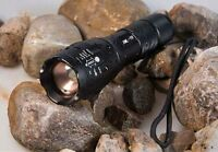 Hot UltraFire 2000LM CREE XML T6 LED ZOOMABLE ZOOM 18650 Flashlight Torch