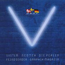 """""""V"""" Welle Erdball Hörerclub LIMITED 3"""" CD 2005 Neotek DIE PERLEN"""