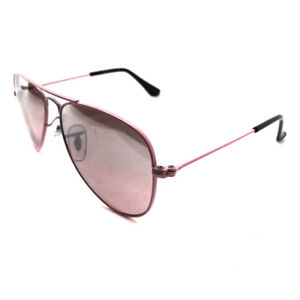 6253df960 Ray-Ban Junior Sunglasses 9506 211/7E Pink Pink Mirror Silver ...