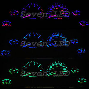 Image Is Loading Zj Jeep Grand Cherokee Led Gauge Cer Kit