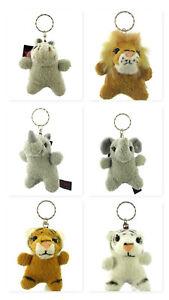 10 Cm Dowman Soft Touch Animal Key Chain Cadeau Choix Bon GoûT