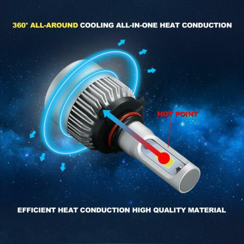 9005 H11 H11 Combo LED Headlight Conversion Bulbs High Low Beam Fog Lights 6000K