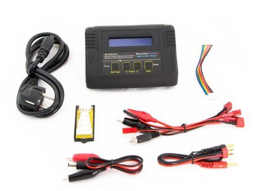 12V//220V-Balancer MT 680 80 Watt LiPo Ladegerät Netzteil