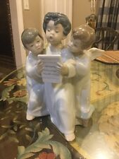 "Lladro Figurine, 4542 ""Group of Angels""7"" NO BOX"
