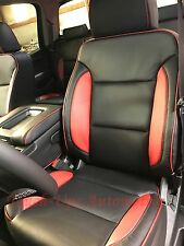 2014 2015 Chevy Silverado Crew Cab Lt Black Katzkin Leather Interior