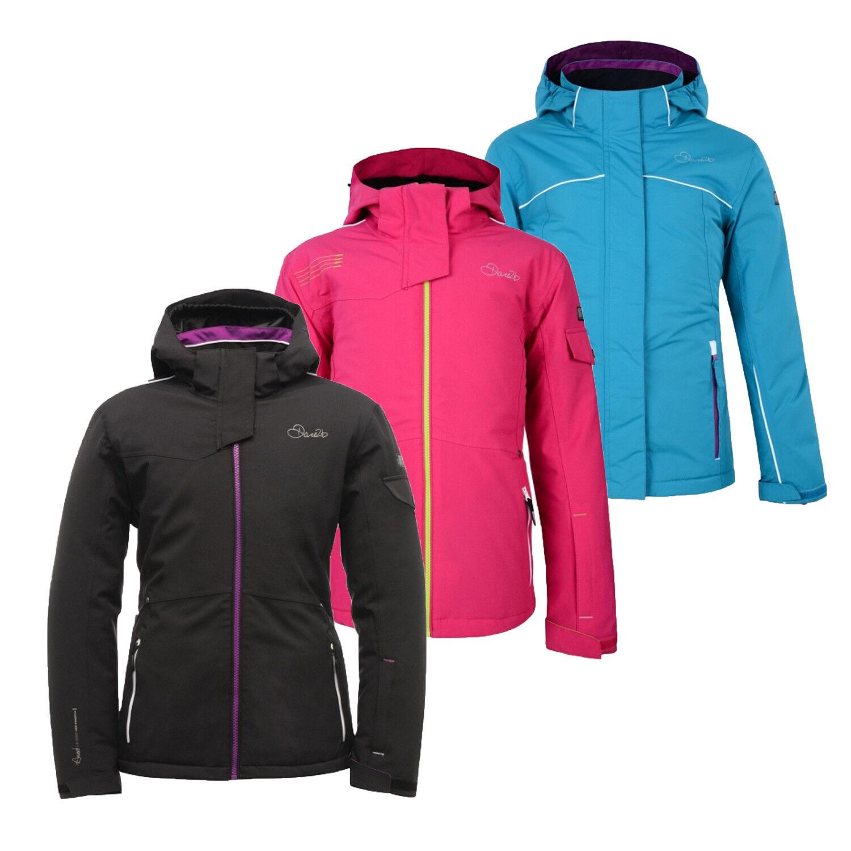 Dare2b Emulate II Reflective Waterproof  Detachable Hooded Ski Jacket