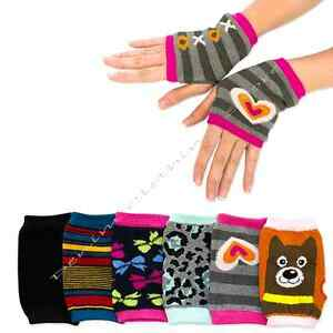 WHOLESALE LOT WOMEN FINGERLESS ARM WINTER WARM MITTEN KNITTED GLOVE CHRISTMAS