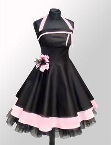 Das Bild wird geladen NEU-Abendkleid-Petticoat-kleid-Abiballkleid-50er-Jahre f61bad095e