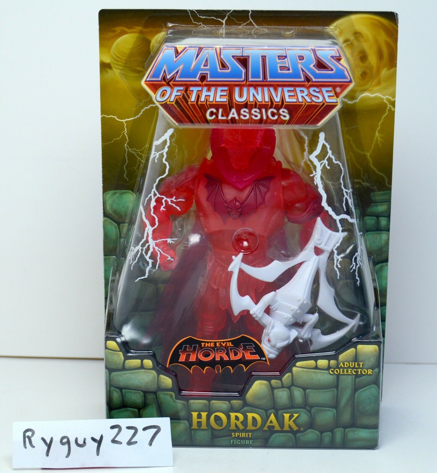 MOTUC, Spirit of Hordak, Masters of the Universe Classics, MOC, sealed, MISB