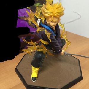 Hot Anime Dragon Ball Z Super Saiyan Trunks PVC Action Figure Figurine Toy Gift