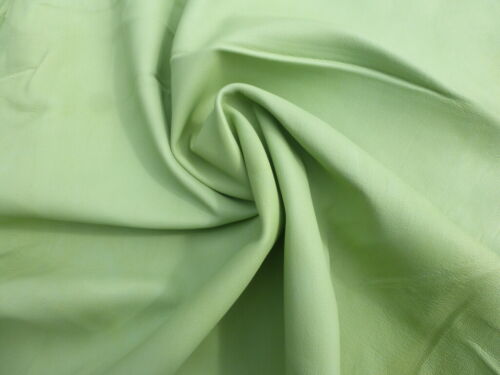Lambskin lamb sheep leather hide Pastel Lime Green butter soft 1 1//2 oz
