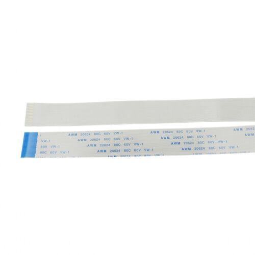 Pitch 0.5 mm 8-Pin FFC//FPC Flexible Câble Plat AWM 20624 80 C 60 V VW-1 50mm-3000mm