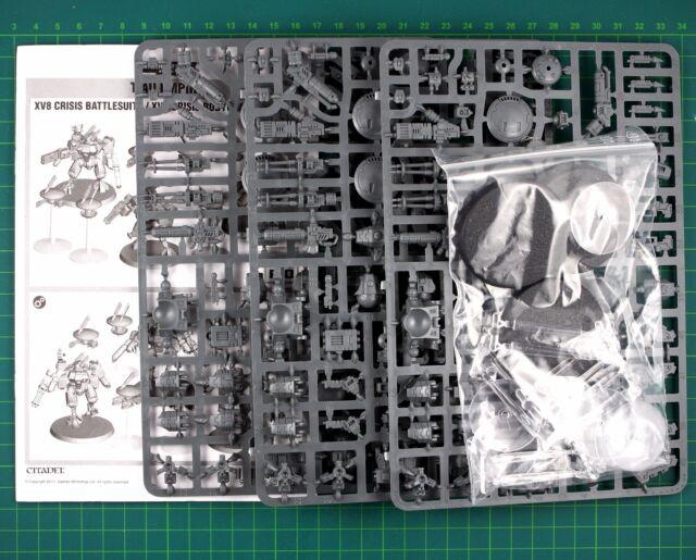 Tau Empire XV8 Crisis Battlesuit Team Warhammer 40K 10482