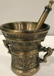 Decorative-Solid-Brass-Mortar-And-Pestle