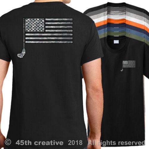 American flag janitor custodian caretaker t shirt USA Janitor Flag T-Shirt
