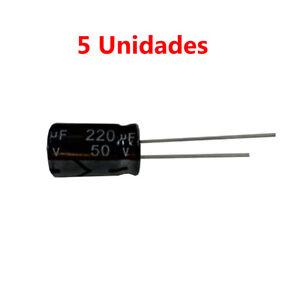5x-Condensador-Electrolitico-Polarizado-220uF-50V-17x10mm